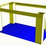 Blockstand 3x5m